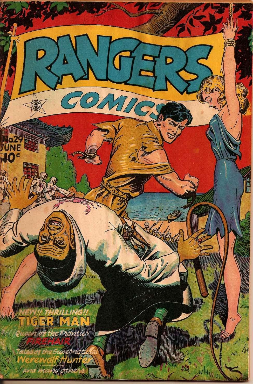 Comic Book Cover For Rangers Comics #29