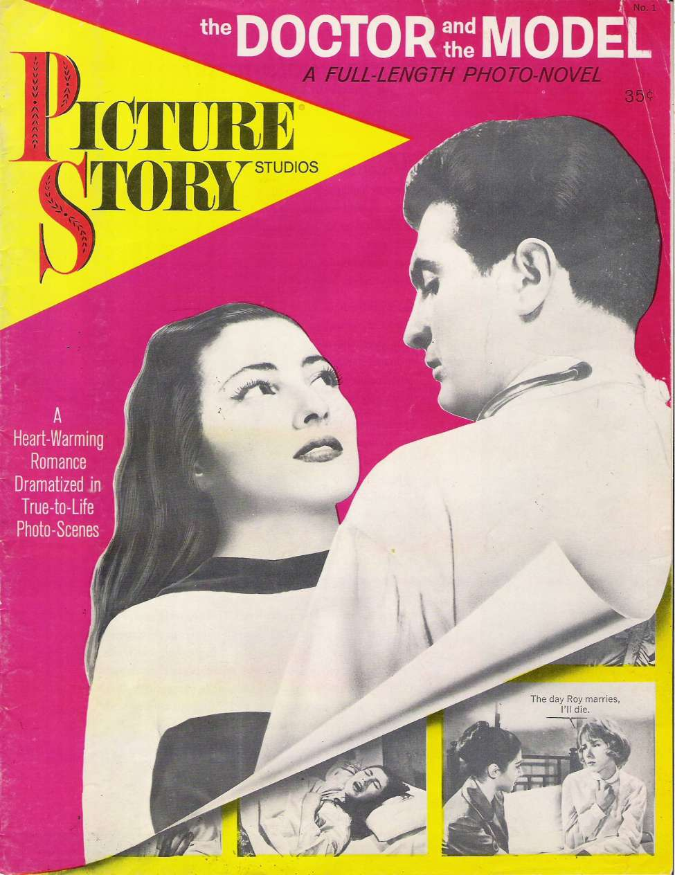 Comic Book Cover For Picture Story Magazine - 1 The Doctor and the Model