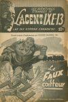 Cover For L'Agent IXE 13 v2 35 Le faux coiffeur