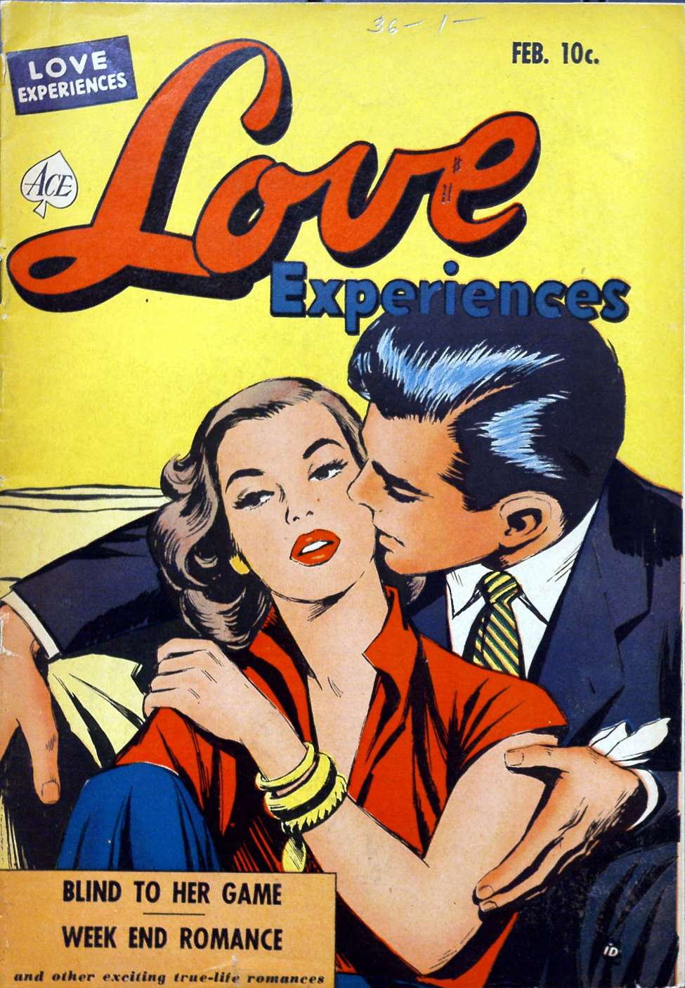 Comic Book Cover For Love Experiences #11