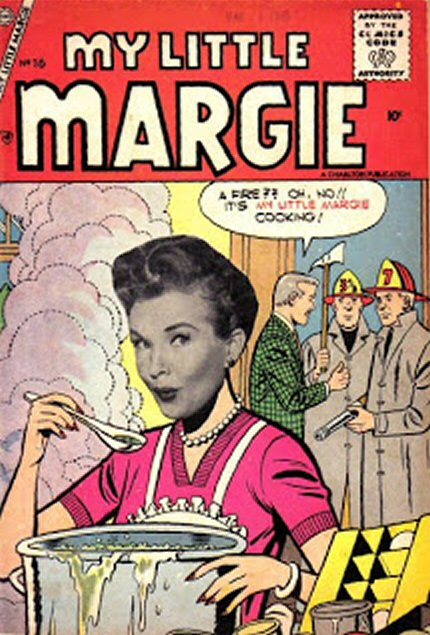 Comic Book Cover For My Little Margie #16