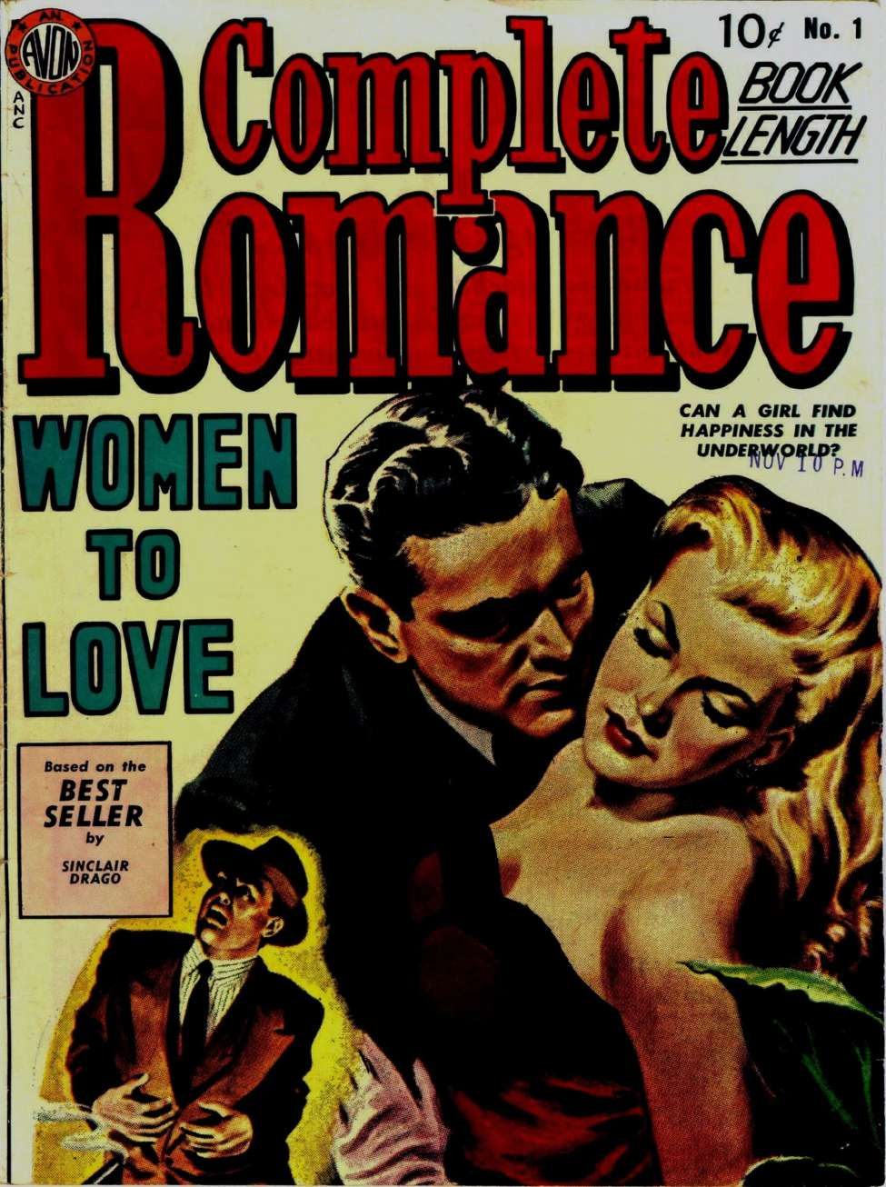 Comic Book Cover For Complete Romance 1 (alt) - Version 2