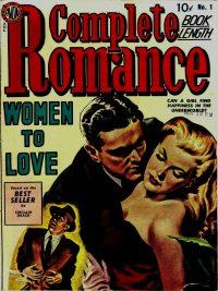 Large Thumbnail For Complete Romance #1 - Version 2