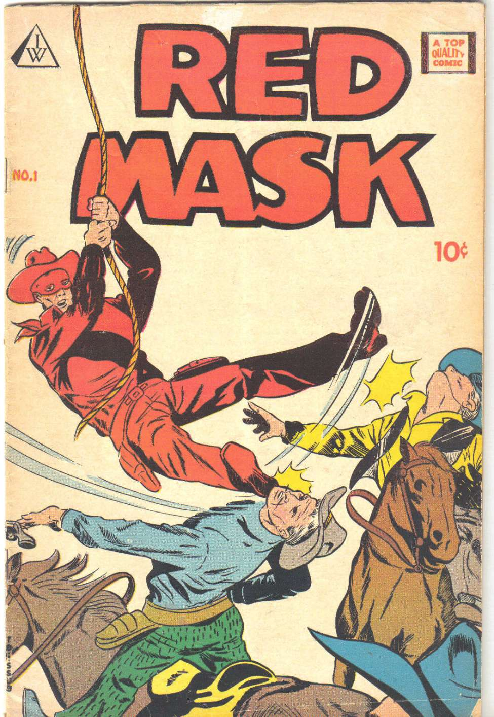 Comic Book Cover For Red Mask 01