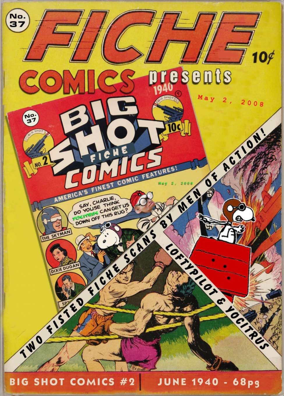 Comic Book Cover For Big Shot Comics #2