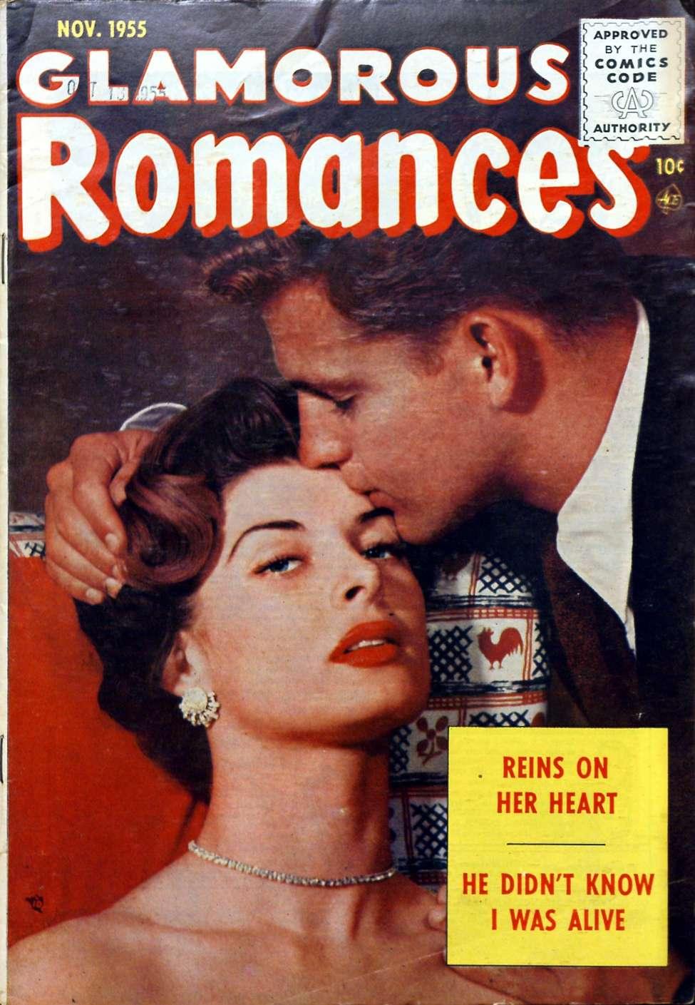 Comic Book Cover For Glamorous Romances #85