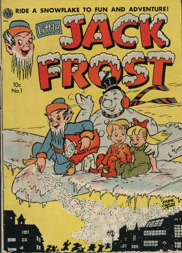 Comic Book Cover For Little Jack Frost #1