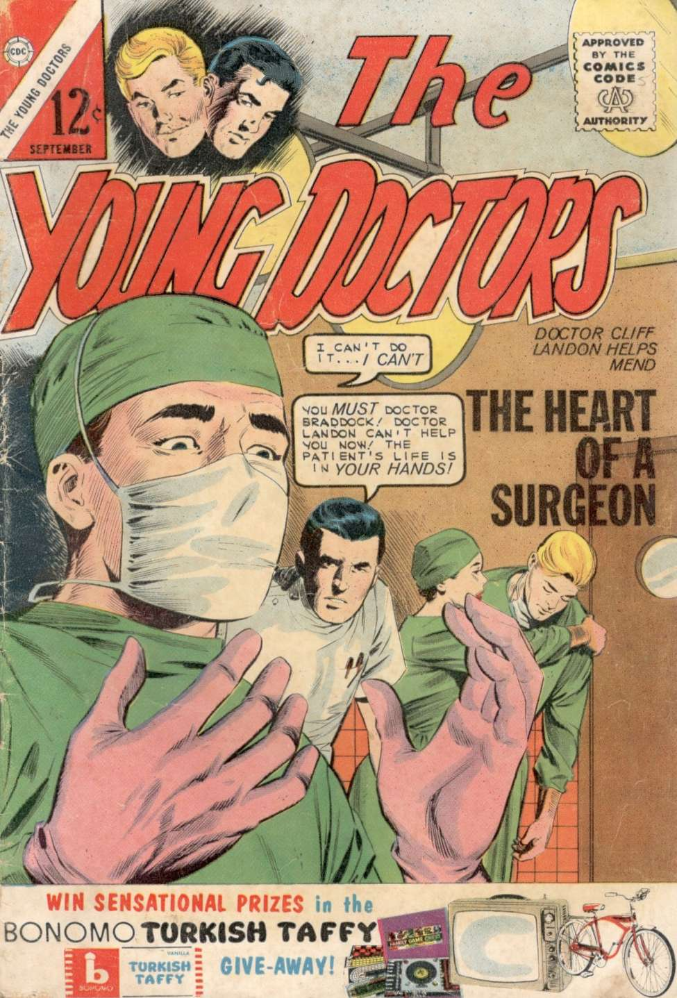 Comic Book Cover For The Young Doctors #5