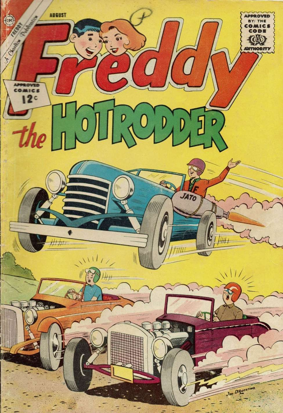 Comic Book Cover For Freddy #35