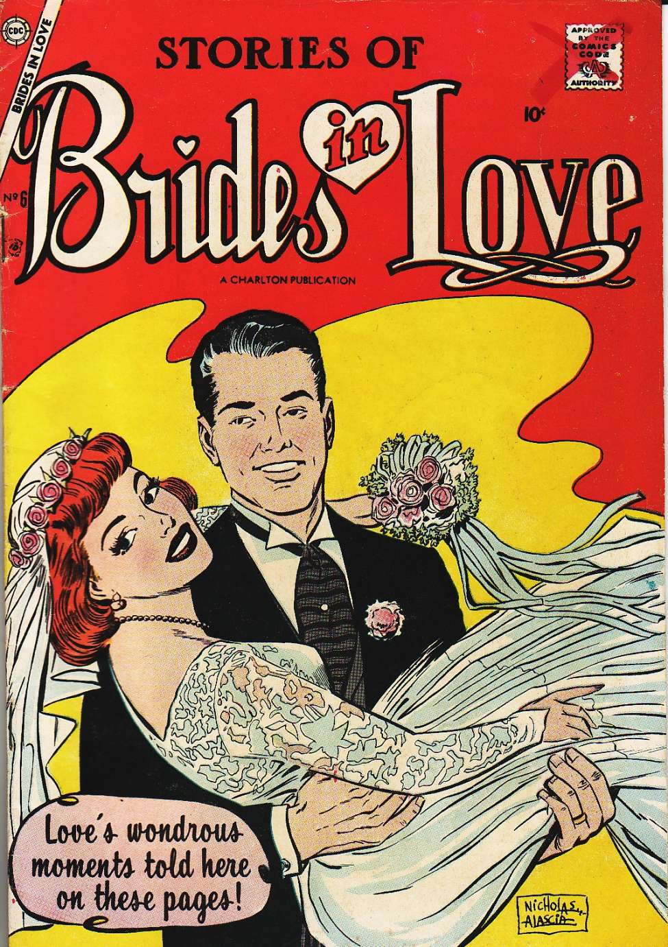 Comic Book Cover For Brides in Love #6