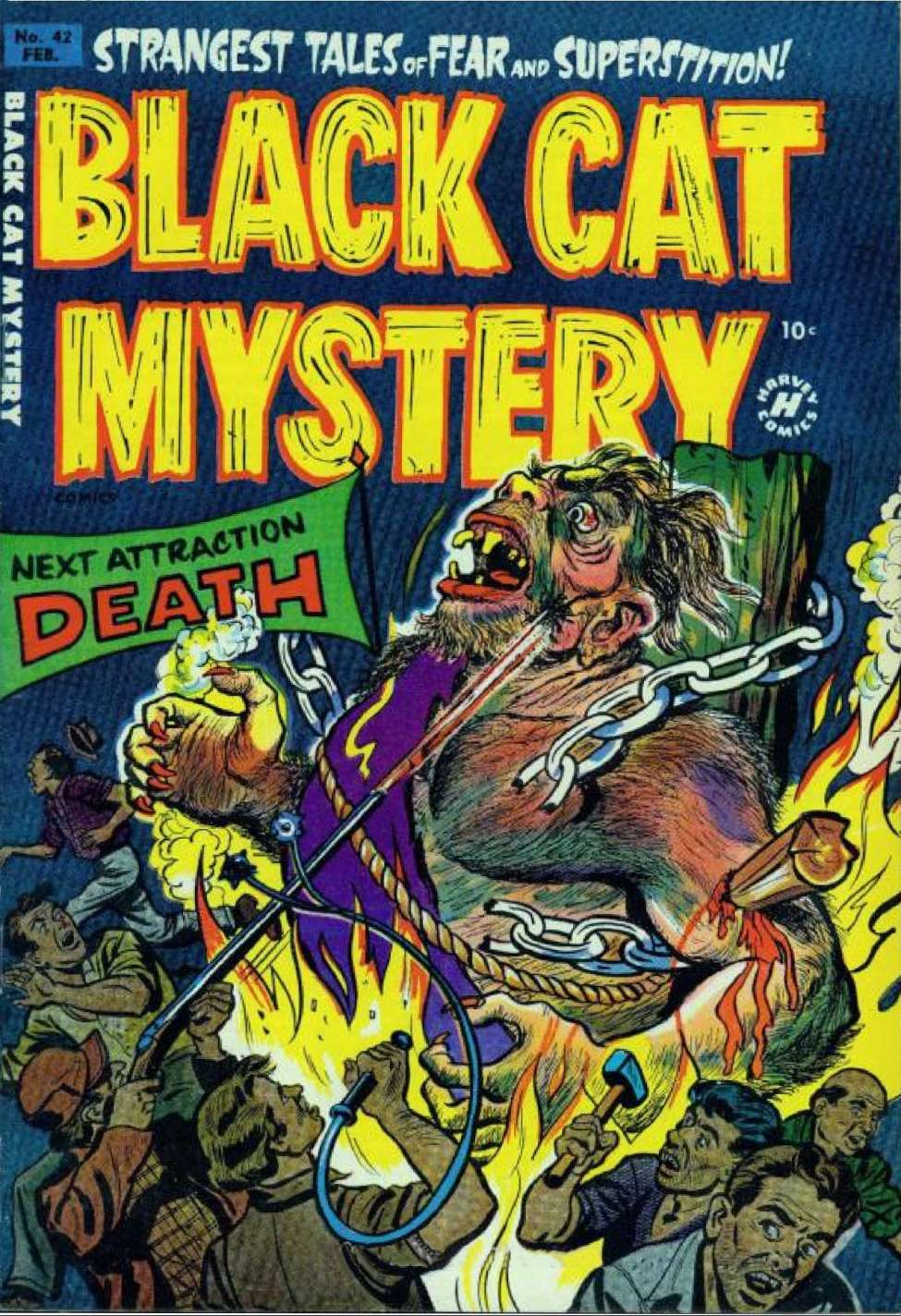 Comic Book Cover For Black Cat #42