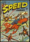 Cover For Speed Comics 36