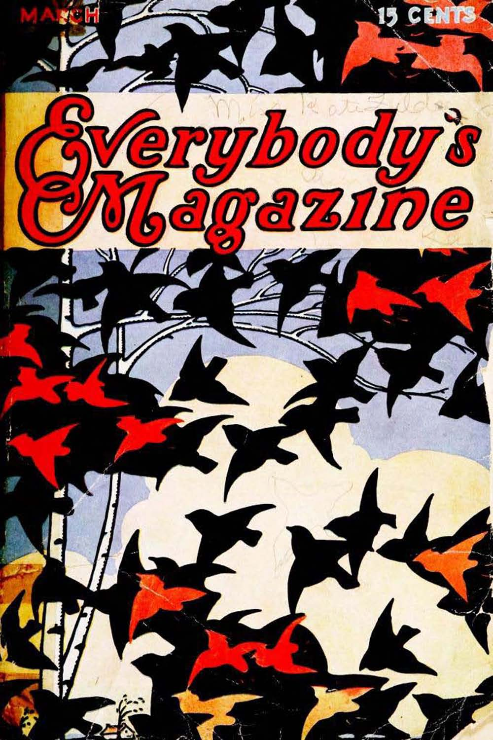 Comic Book Cover For Everybody's Magazine v24 03