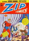 Cover For Zip Comics 36