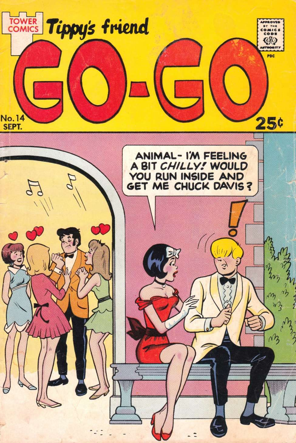 Comic Book Cover For Tippy's Friend Go-Go #14
