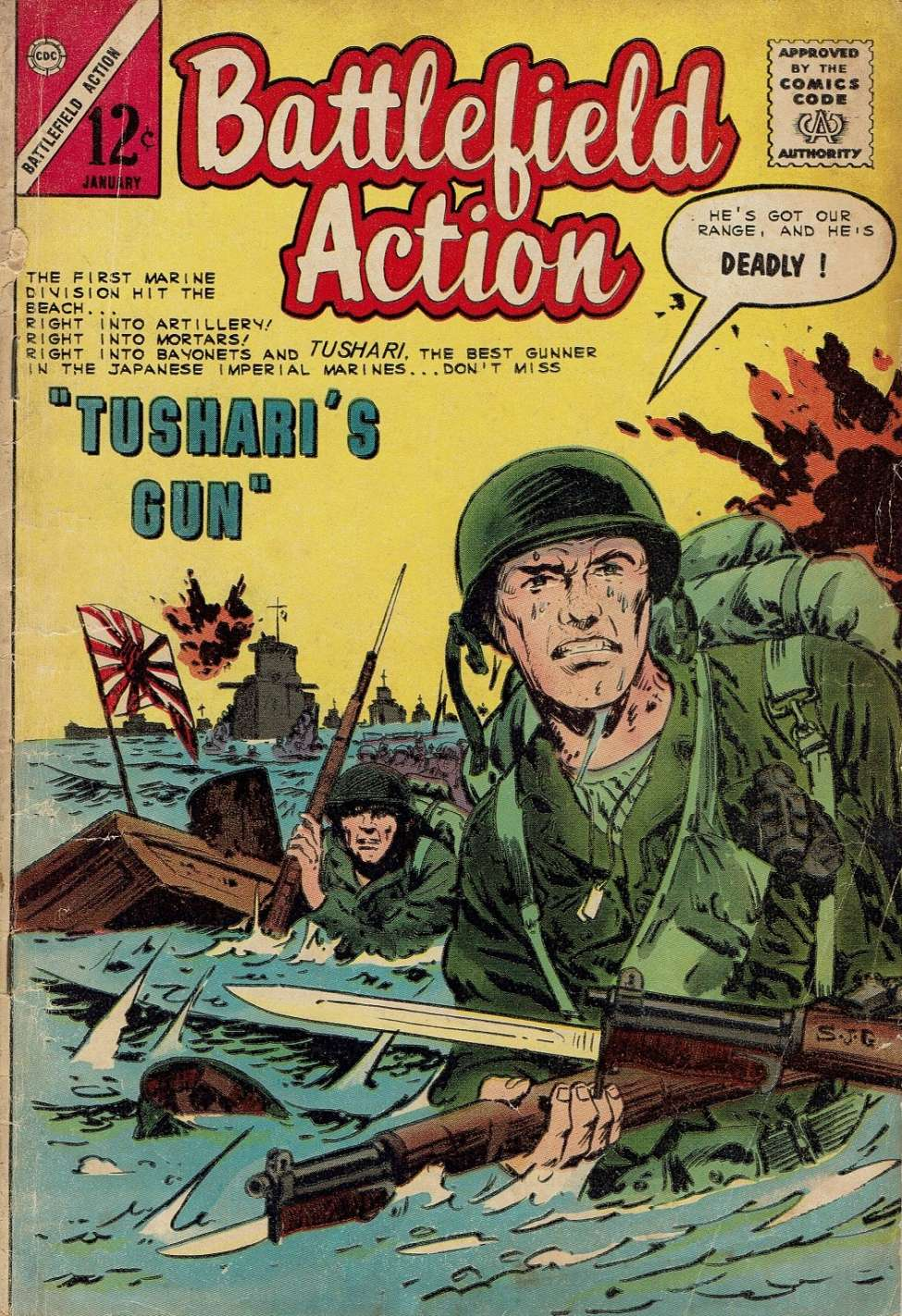 Comic Book Cover For Battlefield Action #56
