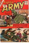 Cover For Fightin' Army 48