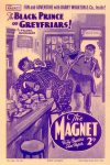 Cover For The Magnet 1654 The Black Prince of Greyfriars!
