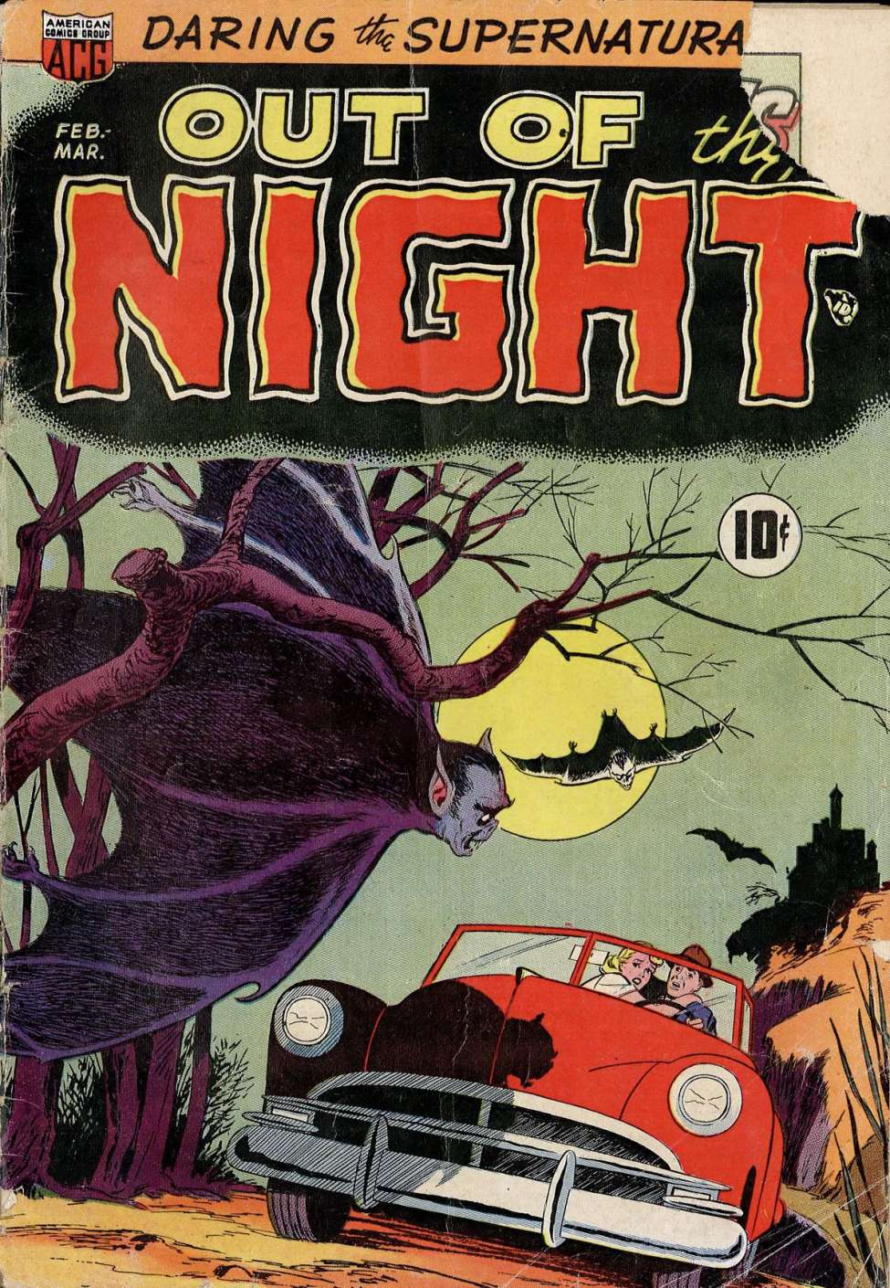 Comic Book Cover For Out of the Night #1