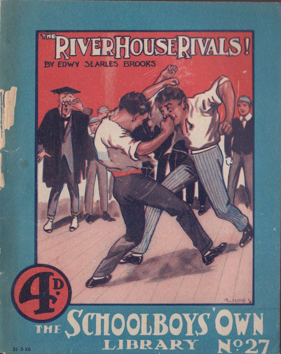 Comic Book Cover For Schoolboys' Own Library 027 - The River House Rivals