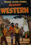 Cover For Blazing Western 3