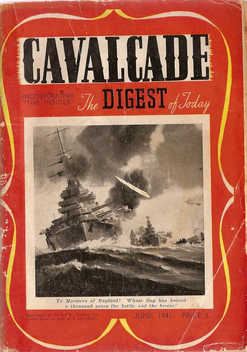 Comic Book Cover For Cavalcade 1941-06