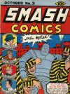 Cover For Smash Comics 3