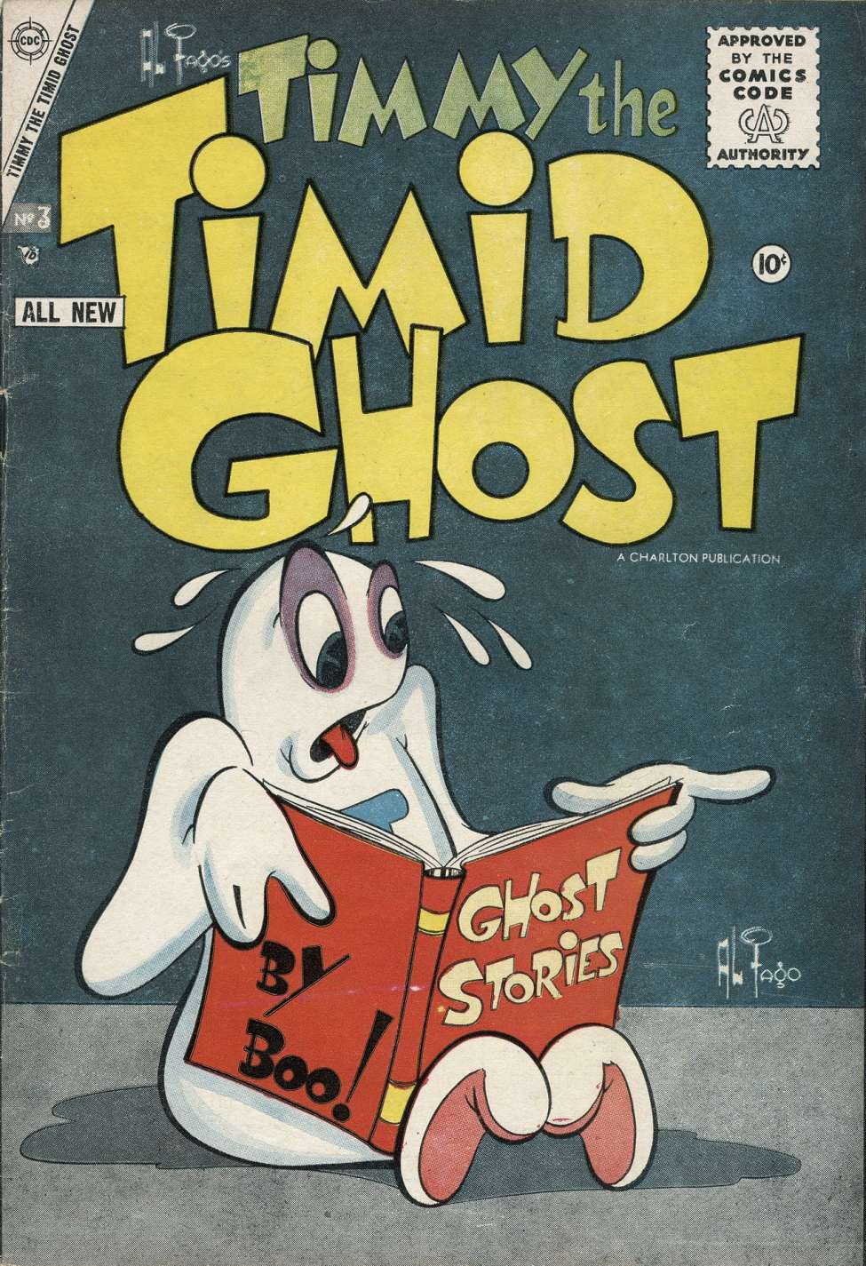 Comic Book Cover For Timmy the Timid Ghost #3