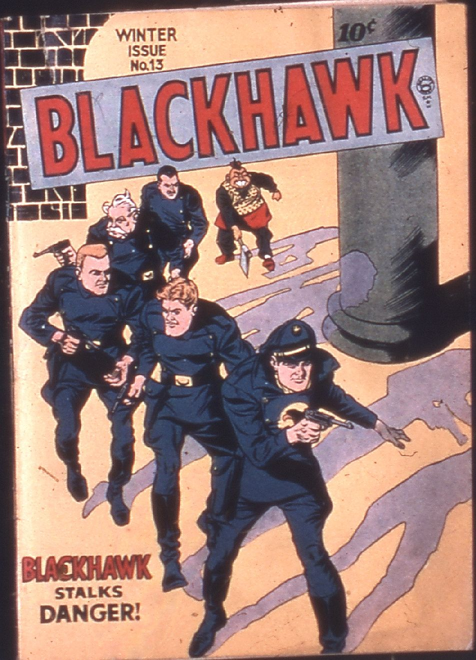 Comic Book Cover For Blackhawk #13