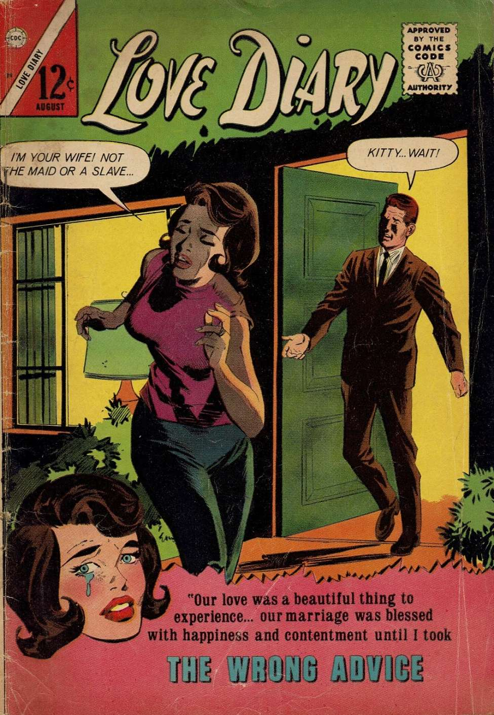 Comic Book Cover For Love Diary #39
