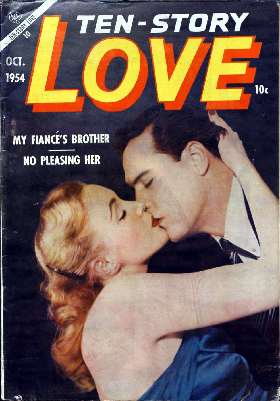 Comic Book Cover For Ten-Story Love v34 6 / 198