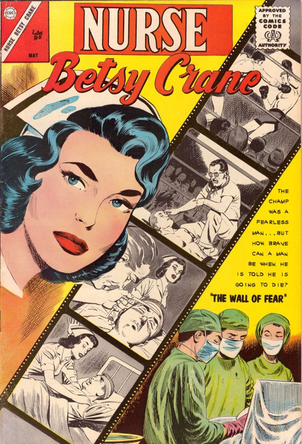 Comic Book Cover For Nurse Betsy Crane #22