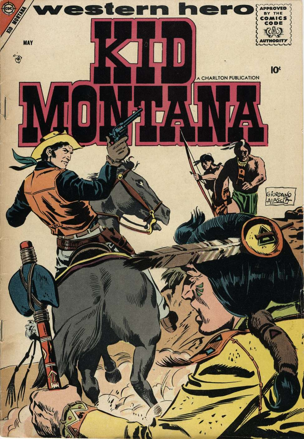 Comic Book Cover For Kid Montana #12