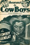 Cover For Aventures de Cow Boys 5 Le cow boy renégat