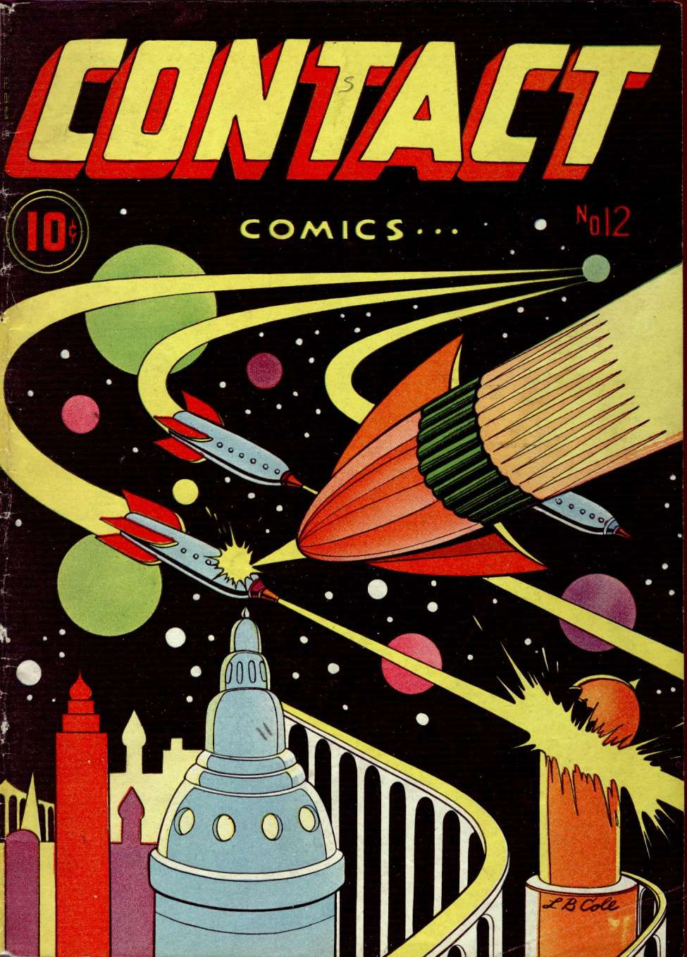 Comic Book Cover For Contact Comics #12