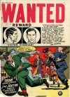 Cover For Wanted Comics 9