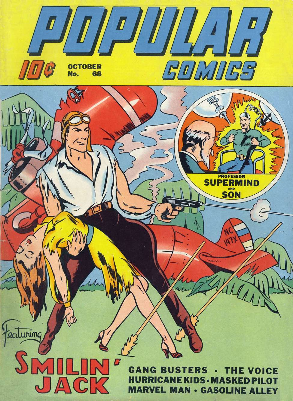 Comic Book Cover For Popular Comics #68