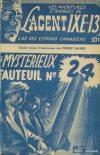 Cover For L'Agent IXE 13 v1 5 Le mystérieux fauteuil no 24