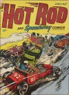 Cover For Hot Rod and Speedway Comics 5