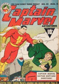 Large Thumbnail For Captain Marvel Adventures #22