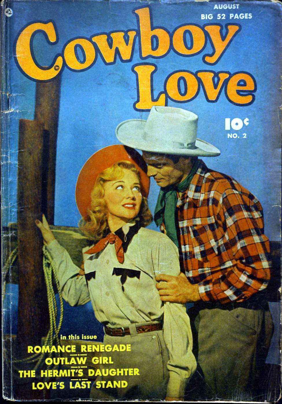 Comic Book Cover For Cowboy Love #2