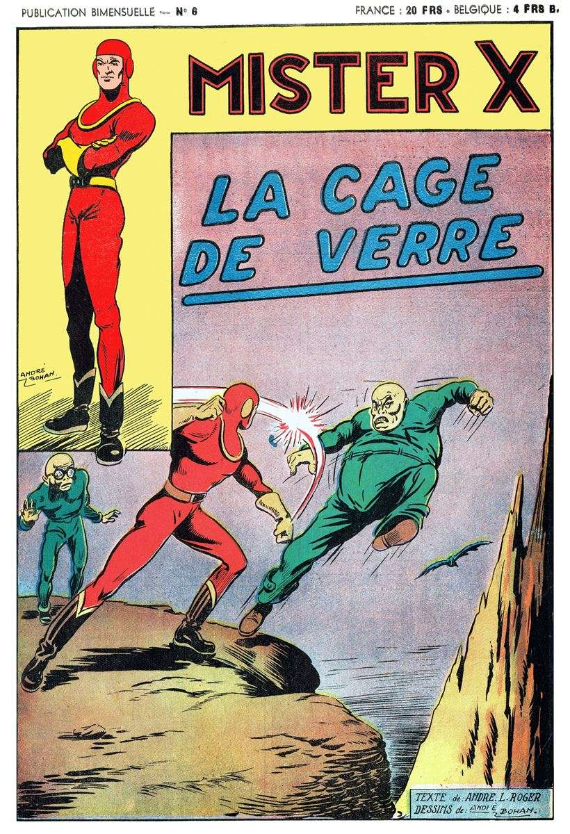 Comic Book Cover For Mister X 06 - La Cage de Verre