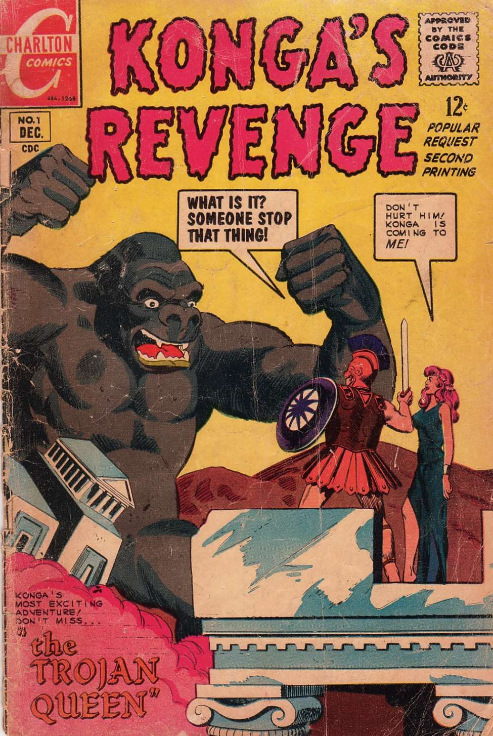 Comic Book Cover For Konga's Revenge #1