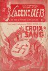 Cover For L'Agent IXE 13 v2 64 La croix de sang