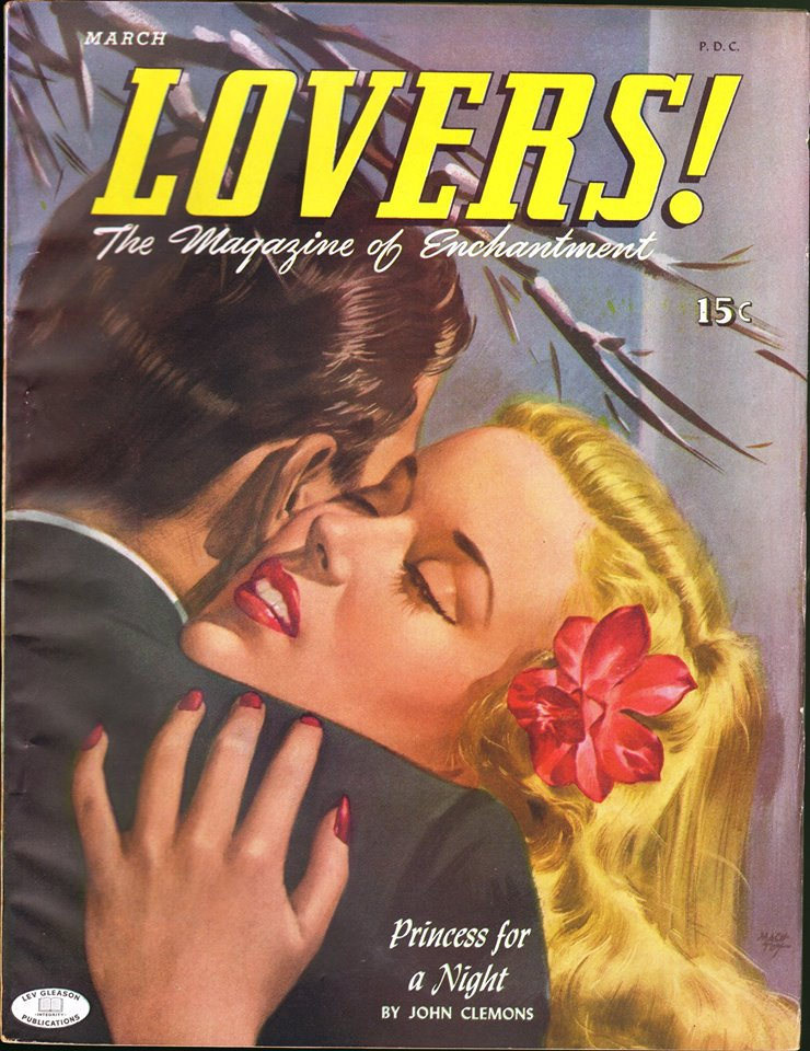 Comic Book Cover For Lovers 1