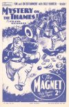 Cover For The Magnet 1648 Mystery on the Thames!