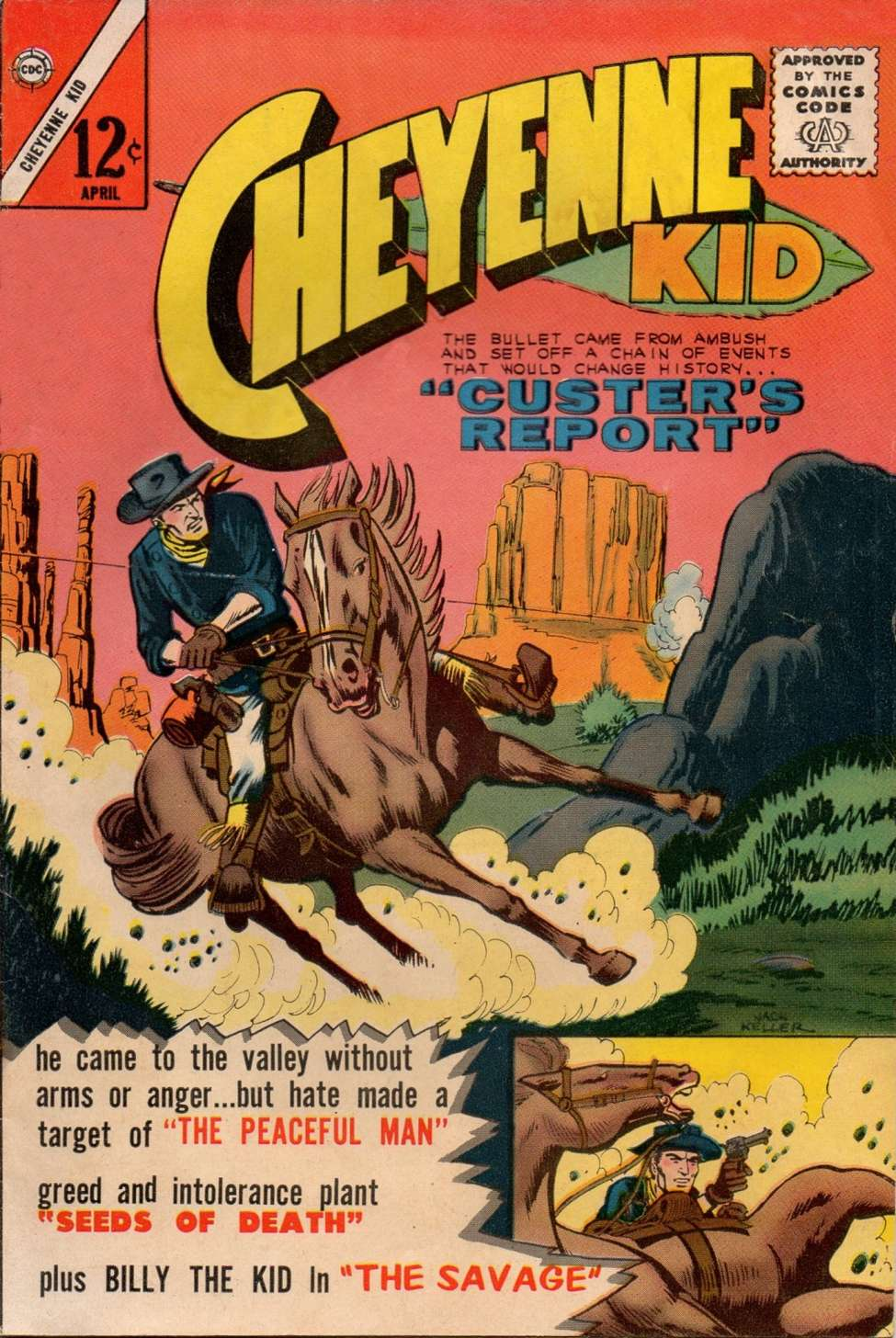 Comic Book Cover For Cheyenne Kid #39