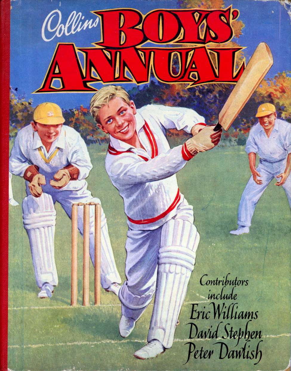 Comic Book Cover For Collins Boys Annual c1950s
