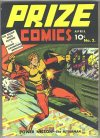 Cover For Prize Comics 2