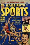 Cover For Babe Ruth Sports Comics 11